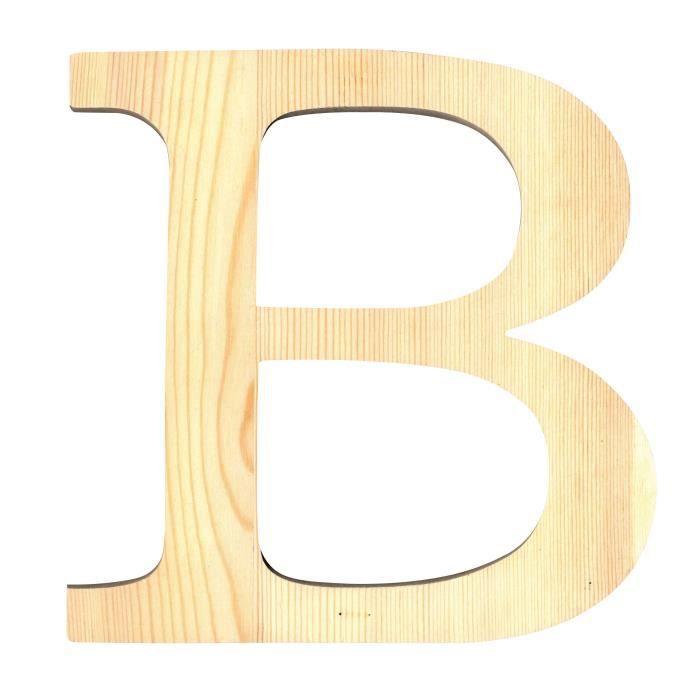 artemio lettre b en bois d coup 19 cm achat vente support d corer lettre b hauteur 19. Black Bedroom Furniture Sets. Home Design Ideas