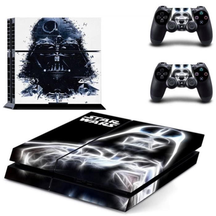 jeux pc video console accessoires pvc pour star wars ps autocollant playstatio f  auc