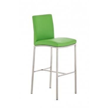 Chaise haute de bar martina vert achat vente chaise pu simili acier - Chaise haute discount ...