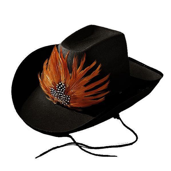 Chapeau Cow Boy Bill Noir Achat / Vente chapeau perruque Chapeau