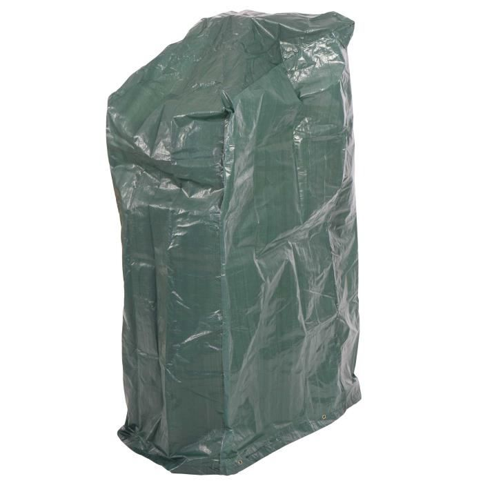 Housse de protection pour chaises de jardin 150x66x66cm for Housse de protection jardin