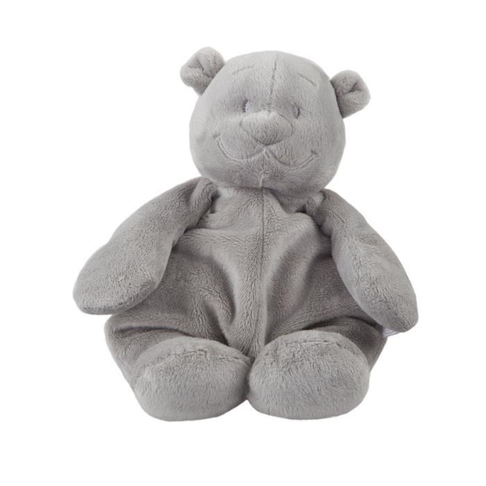 peluche ours nouky gris clair poudre d 39 etoiles achat vente peluche les soldes sur. Black Bedroom Furniture Sets. Home Design Ideas