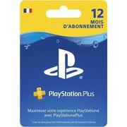 CARTE MULTIMEDIA Abonnement Playstation Plus 12 Mois PSVita-PS3-PS4