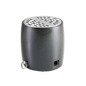 ENCEINTE NOMADE Mini Enceinte Bluetooth XQISIT gris argent