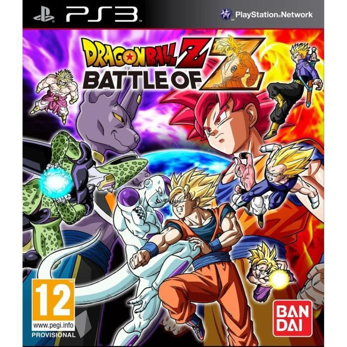 JEUX PS3 Dragon Ball Z: Battle Of Z Day One Ed. PS3