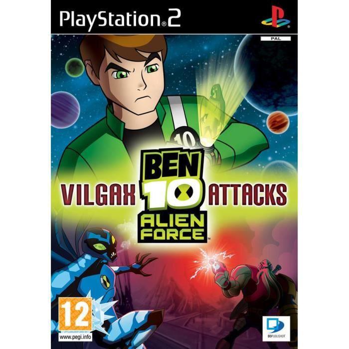 JEUX PS2 BEN 10 : Alien Force / JEU CONSOLE PS2