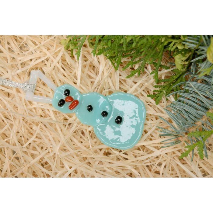 jouet de no l bonhomme de neige bleu fait main achat vente d co de f te murale cdiscount. Black Bedroom Furniture Sets. Home Design Ideas