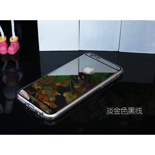 Case miroir bo tier de miroir de silicone t l phone for Miroir des envies