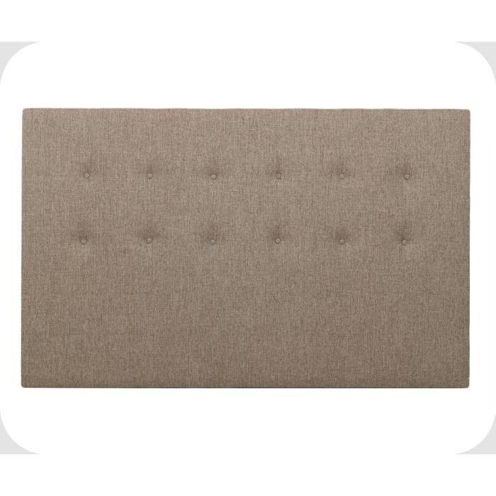 t te de lit sailor chocolat 170 x 120 cm achat vente. Black Bedroom Furniture Sets. Home Design Ideas
