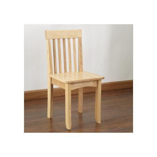 Petite chaise en bois pour enfant couleur bois achat vente chaise tabouret b b Chaise pour table en bois