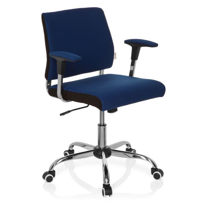 Chaise de bureau chaise polyvalente avida bleu achat - Chaise de bureau bleu ...