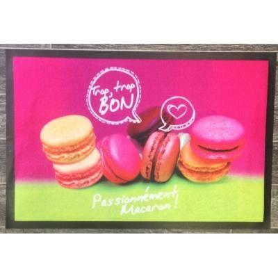 Tapis de cuisine macaron passionn ment achat vente - Tapis de cuisine cupcake ...