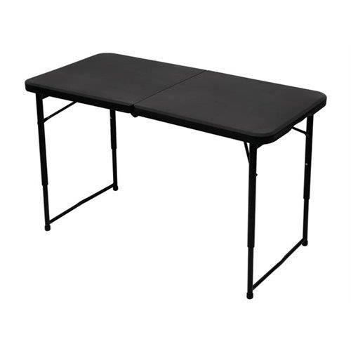 Table De Camping Pliante Avec Hauteur R Glable Achat Vente Table De Jardin Table De Camping