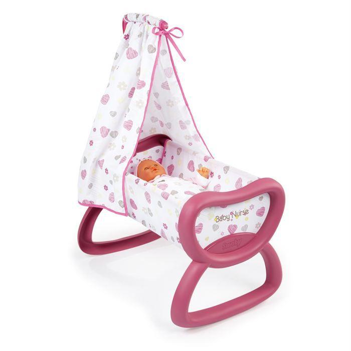 bercelonnette baby nurse smoby achat vente accessoire poupon cdiscount. Black Bedroom Furniture Sets. Home Design Ideas