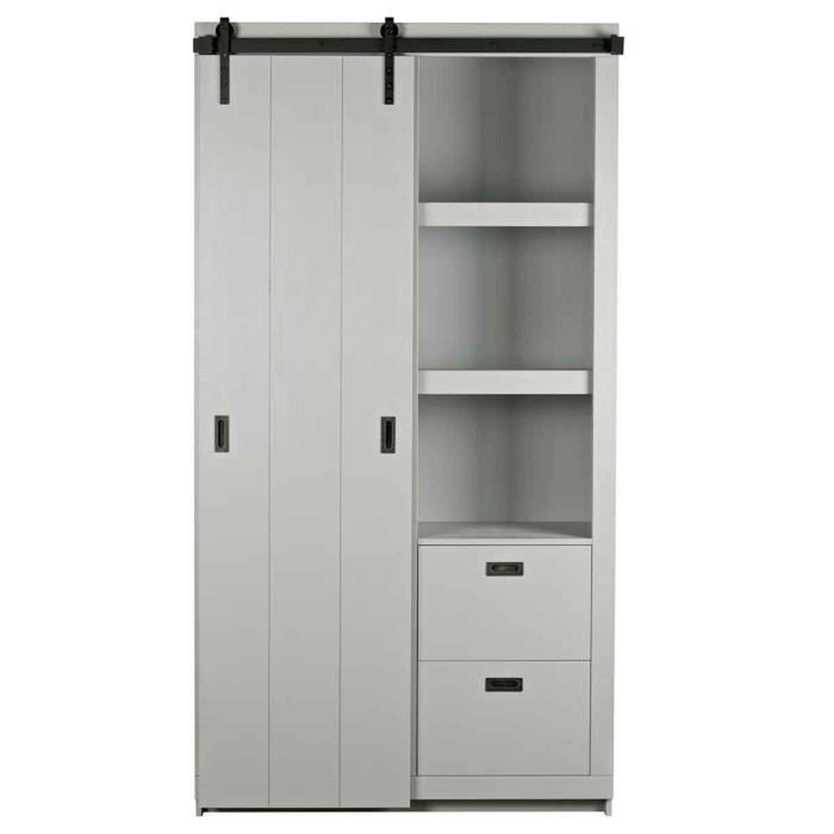 Armoire porte coulissante cdiscount auc with armoire porte coulissante cdiscount porte duentre for Armoire chambre adulte cdiscount