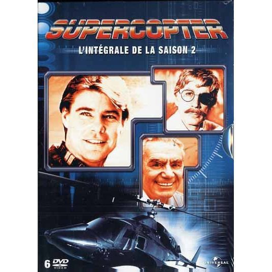 DVD SUPERCOPTER Saison 2 en DVD SÉRIE pas cher