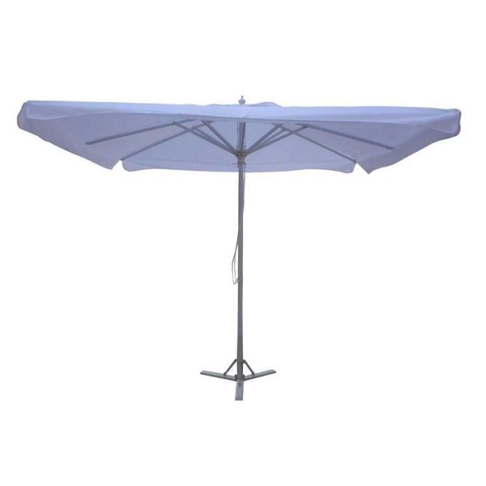 parasol de march rectangulaire 2 5 x 3 m achat vente parasol parasol de march rectangul. Black Bedroom Furniture Sets. Home Design Ideas