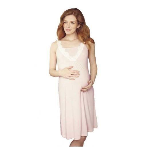 chemise de nuit grossesse allait rose p tale achat vente pyjama chemise de nuit chemise. Black Bedroom Furniture Sets. Home Design Ideas