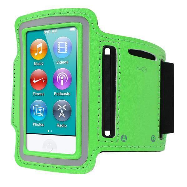 Brassard apple ipod nano 7 7g vert achat housse for Housse ipod nano 7