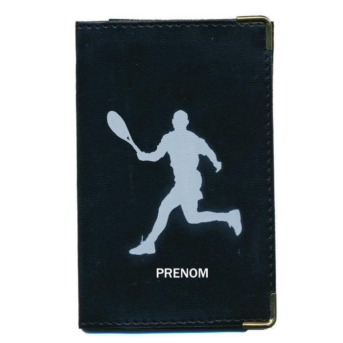 pochette etui protection porte carte grise papiers voiture permis de conduire tennis. Black Bedroom Furniture Sets. Home Design Ideas