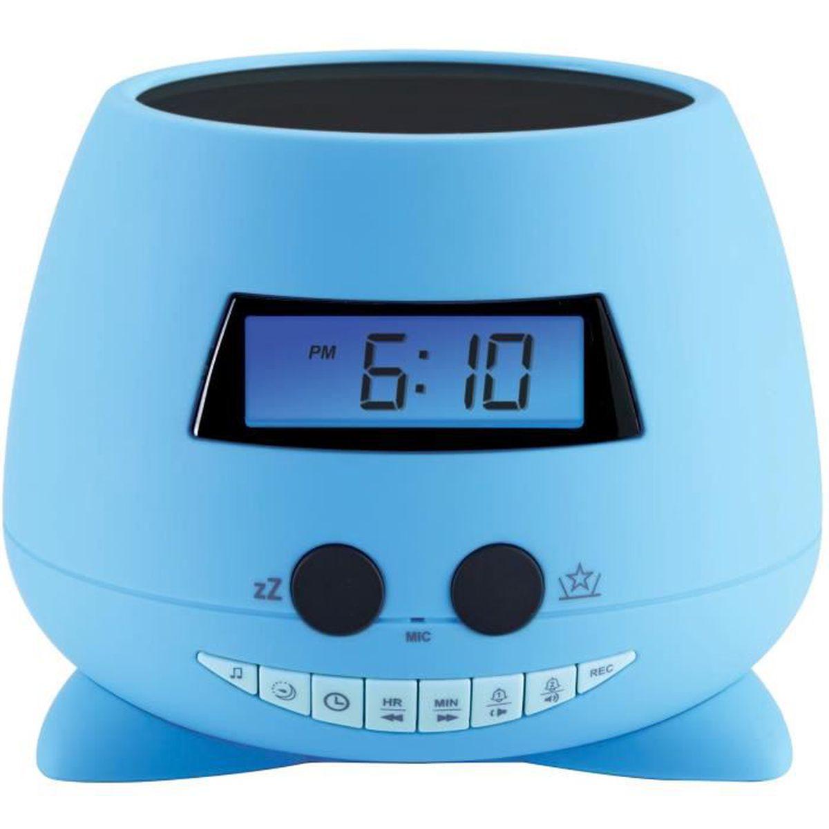 r veil projecteur pour enfant soft touch couleur bleu radio r veil avis et prix pas cher. Black Bedroom Furniture Sets. Home Design Ideas