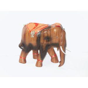 deco elephant en bois achat vente deco elephant en bois pas cher cdiscount. Black Bedroom Furniture Sets. Home Design Ideas
