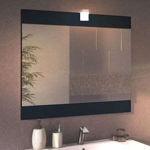 miroir salle de bain largeur 80 cm achat vente miroir salle de bain largeur 80 cm pas cher. Black Bedroom Furniture Sets. Home Design Ideas
