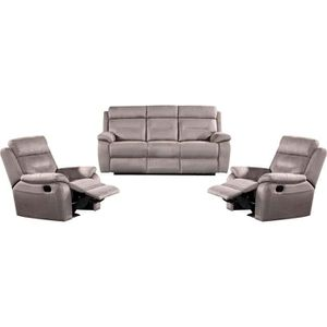 canape relax 2 places tissu achat vente canape relax 2 places tissu pas cher cdiscount. Black Bedroom Furniture Sets. Home Design Ideas