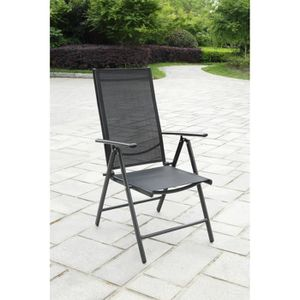 fauteuil jardin inclinable achat vente fauteuil jardin inclinable pas cher cdiscount. Black Bedroom Furniture Sets. Home Design Ideas