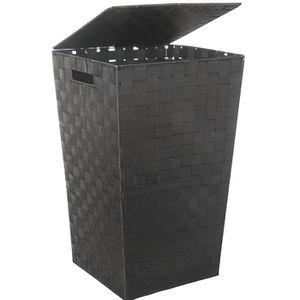 panier a linge noir achat vente panier a linge noir. Black Bedroom Furniture Sets. Home Design Ideas