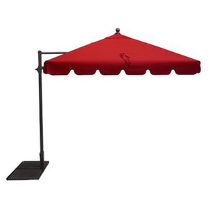 Parasol rectangulaire inclinable achat vente parasol rectangulaire inclin - Parasol deporte rouge ...