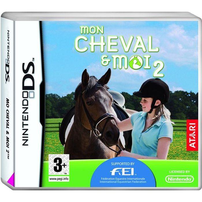 mon cheval et moi jeu console nintendo ds achat vente jeu ds dsi mon cheval et moi 2 ds. Black Bedroom Furniture Sets. Home Design Ideas