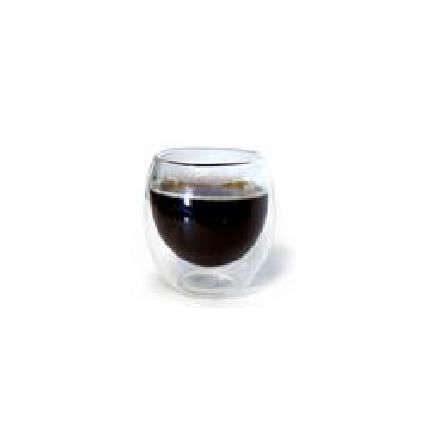 tasse en verre double paroi 80 ml achat vente bol mug mazagran tasse en verre double. Black Bedroom Furniture Sets. Home Design Ideas