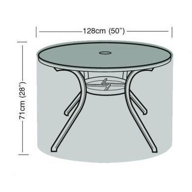 Nappe imperm able en poly thyl ne pour table ronde de - Nappe pour table ronde ...
