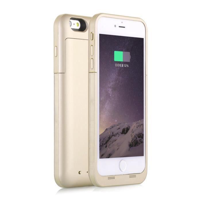or pour iphone 7 plus 5 5 39 39 10000mah coque tui housse batterie externe chargeur portable au dos. Black Bedroom Furniture Sets. Home Design Ideas