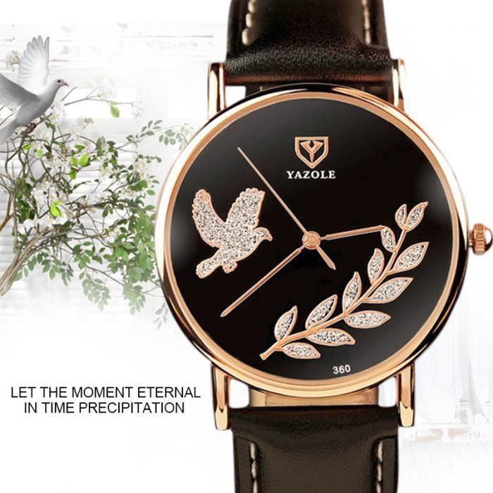 Luxe minimaliste mode loisirs femmes quartz montres for Mouvement minimaliste