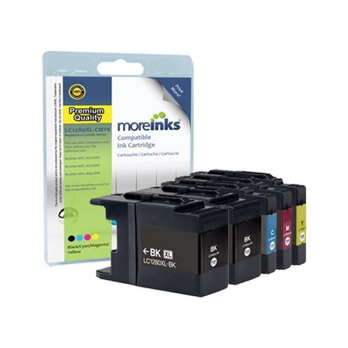 5 moreinks cartouches d 39 encre compatibles pour imprimante. Black Bedroom Furniture Sets. Home Design Ideas
