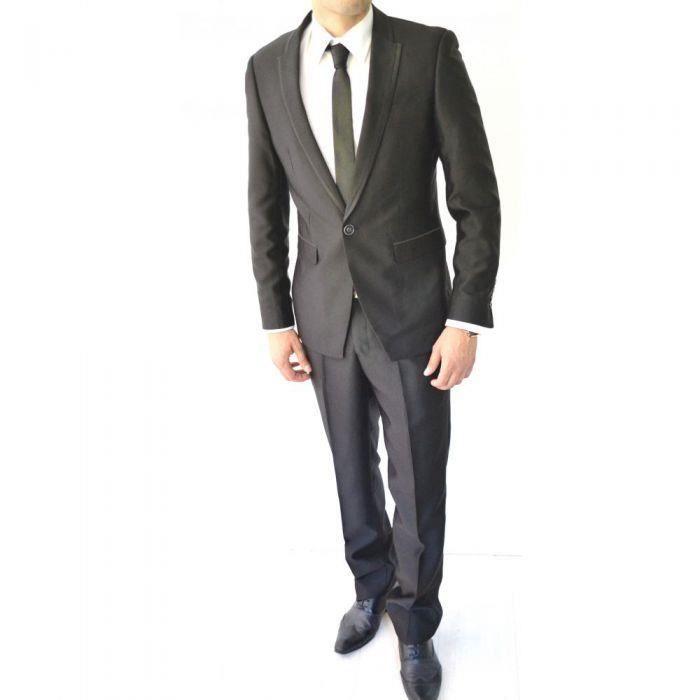 costume homme noir achat vente ensemble de v tements cdiscount. Black Bedroom Furniture Sets. Home Design Ideas