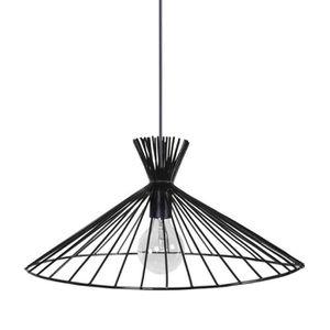 KONE Lustre - suspension filaire noire ?47 cm E27 40W