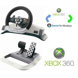 VOLANT CONSOLE WIRELESS RACING WHEEL XBOX 360