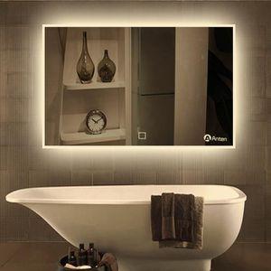 anten 19w miroir led lampe de miroir clairage salle de bain mural miroir lumineux design. Black Bedroom Furniture Sets. Home Design Ideas