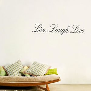 Stickers muraux phrase achat vente stickers muraux for Stickers chambre love
