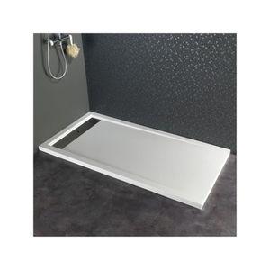receveur de douche 160x80 achat vente receveur de douche 160x80 pas cher cdiscount. Black Bedroom Furniture Sets. Home Design Ideas