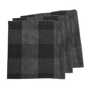 SERVIETTE DE TABLE SOLEIL D'OCRE Lot de 3 serviettes de table Lyam 45