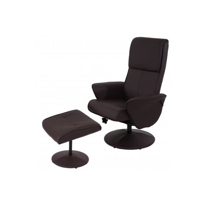 fauteuil relax berlin brun achat vente fauteuil cdiscount. Black Bedroom Furniture Sets. Home Design Ideas