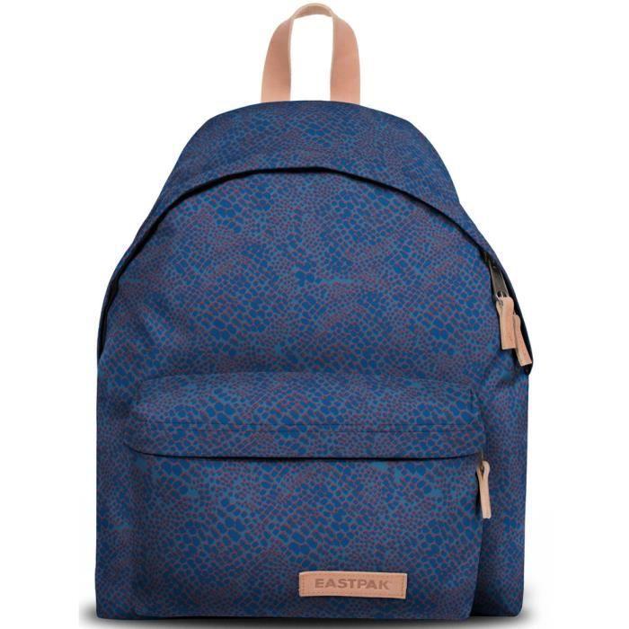 sac dos eastpak padded pak 39 r ref eas37819 48m snake bleu. Black Bedroom Furniture Sets. Home Design Ideas