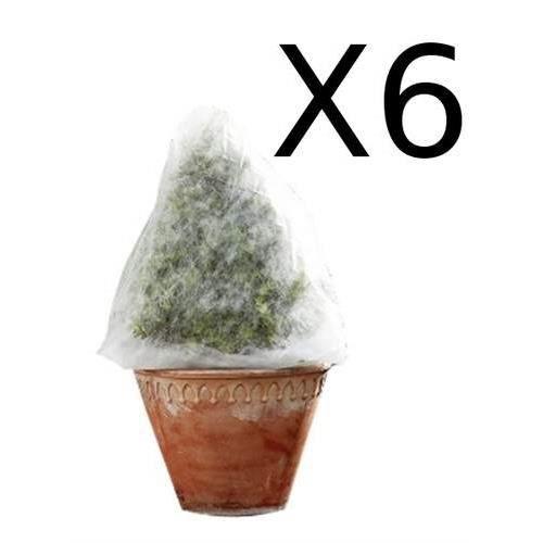les 6 housses d 39 hivernage pour arbustes et plantes achat vente geotextile bache les 6. Black Bedroom Furniture Sets. Home Design Ideas