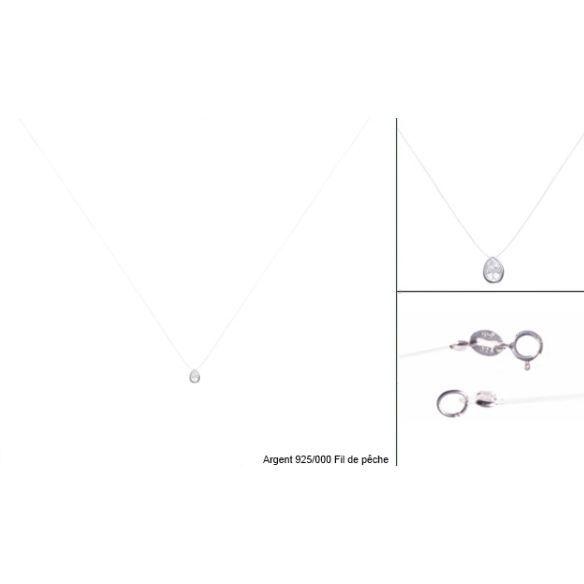 collier cordon nylon fil de peche pendentif g achat vente sautoir et collier collier. Black Bedroom Furniture Sets. Home Design Ideas