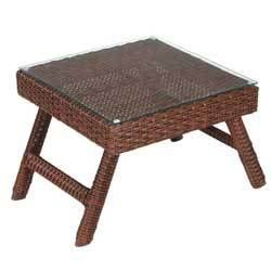 Table basse tressee alize achat vente table basse jardin table basse tres - Table basse en resine ...
