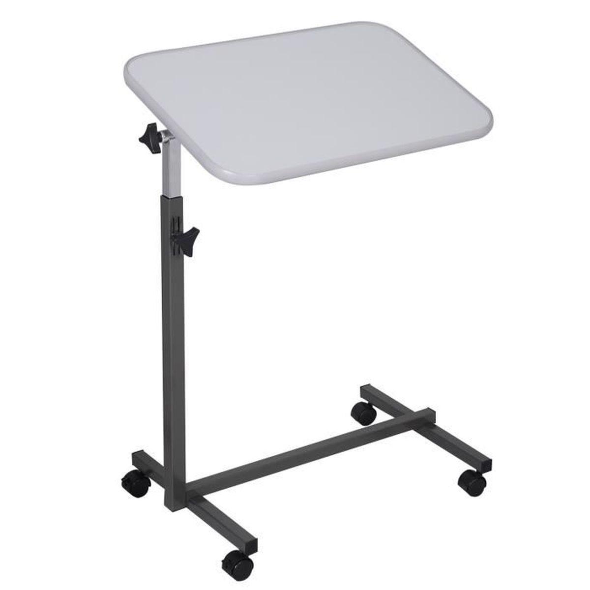 table de lit inclinable pour pc hauteur adjustable prix pas cher cdiscount. Black Bedroom Furniture Sets. Home Design Ideas